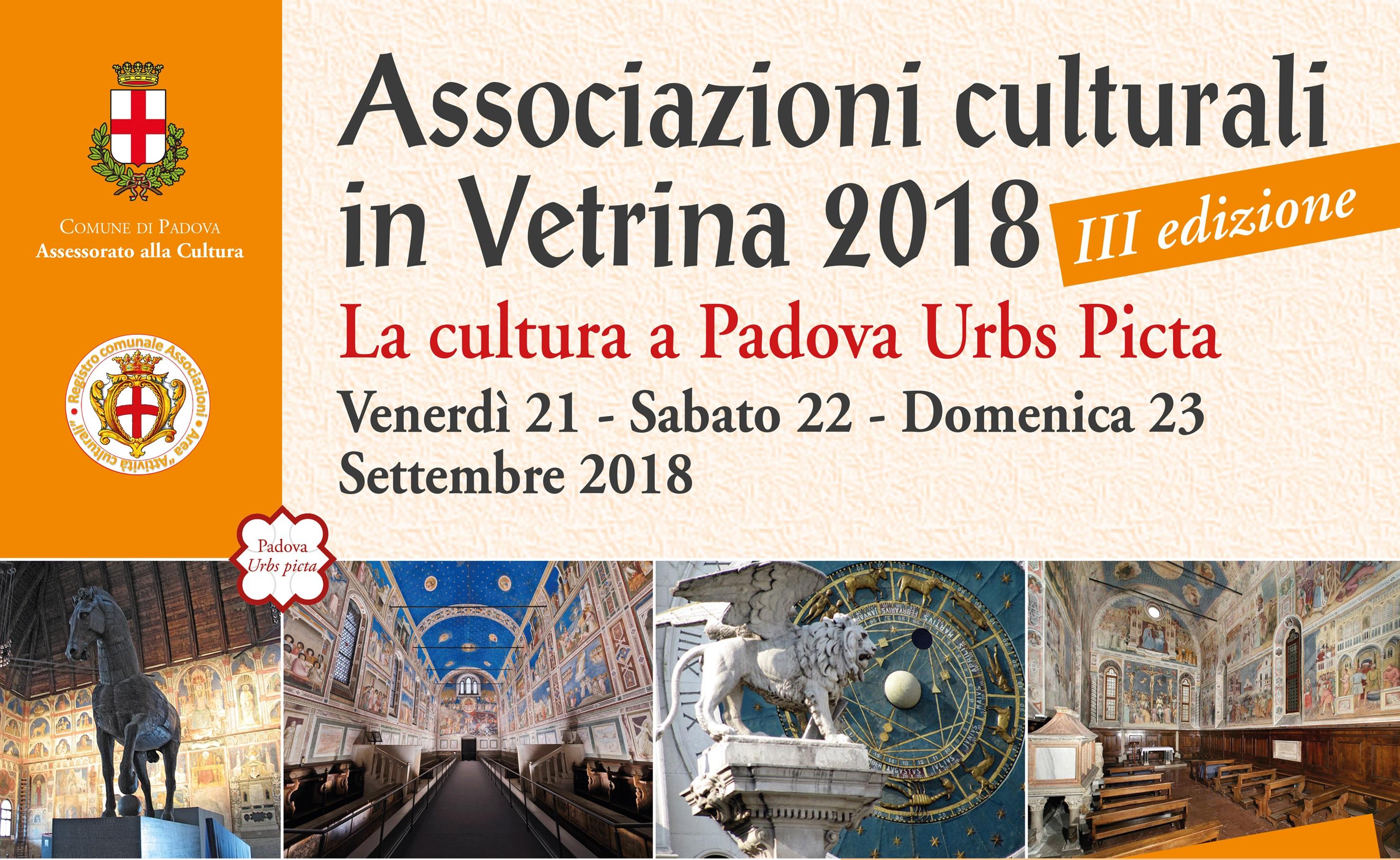 Associazioni Culturali in Vetrina 2018.