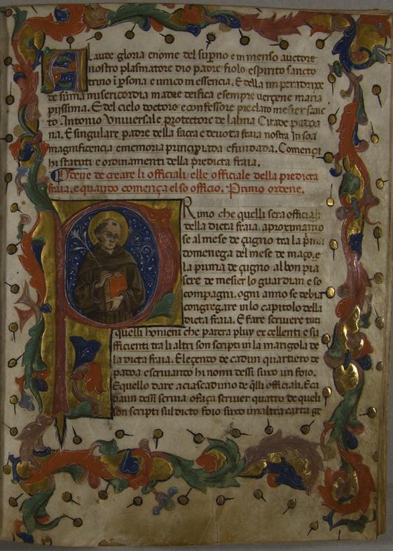 Statuto del XV secolo